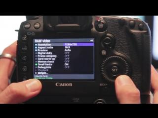 УРОК- Установка Magic Lantern и RAW Видео на камере Canon EOS 5D Mark III. 07.2014