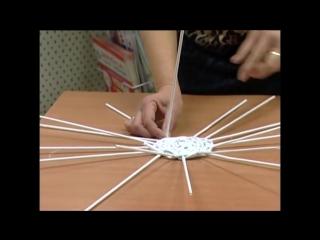 Основы плетения из газет и бумаги