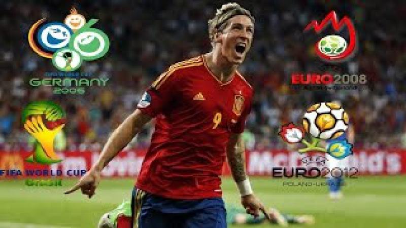 Fernando Torres ● All Spain 9 Goals in Major Tournaments ● 2006-14 IHDI