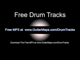 Funk Groove Drum Beat 95 BPM Bass Guitar Practice Backing Drum Track Free MP3