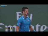 Roger Federer v Novak Djokovic - 2015 BNP Paribas Open Final Highlights