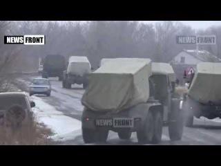 ДНР и ЛНР (Ополчение, Новороссия) ЛНР в одностороннем порядке приступила к отводу тяжелой артиллерии