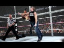 WWE Hell in a Cell 2014 Dean Ambrose vs. Seth Rollins Highlights
