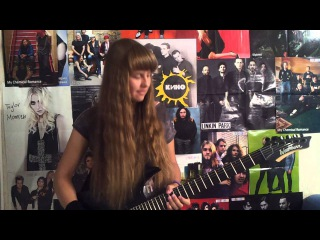 Red Hot Chili Peppers - Purple Stain (Julia's cover)