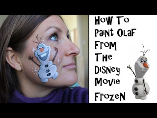 How to Draw or Paint Olaf From Disney's