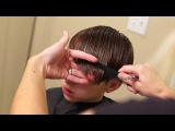 Young Justin Bieber Side Swept Haircut  how to cut boys hair