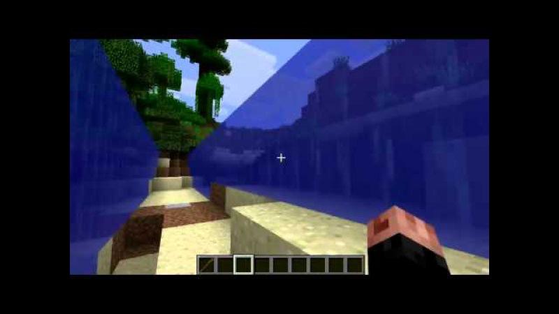 Обзор модов для Minecraft[1.5.2] 5- Mosesmod И да пройдешь ты по днищу морскому аки по суху