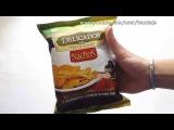 Чипсы Nachos Delicados с кусочками Оливок и Паприки (перезалив)