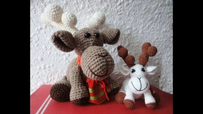Рождественский ОЛЕНЬ Ч 4 Christmas deer P 4 Crochet