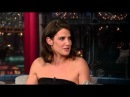 Cobie Smulders on the End of How I Met Your Mother on David Letterman - March 31st 2014