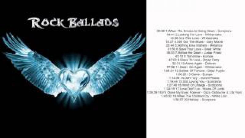 The Best Of Rock Ballads 70's - 90's || The Greatest Rock Ballads 70's 90's VOL 1