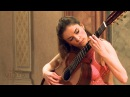 Ana Vidovic plays 'La Catedral' by Agustín Barrios Mangoré on a classical guitar - クラシックギター