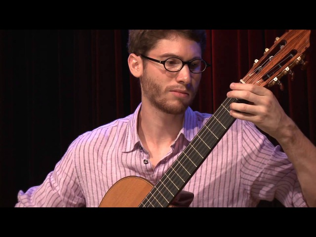Thomas Viloteau plays Fuga by M. Ponce