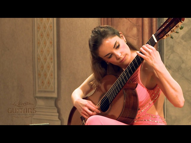 Ana Vidovic plays Recuerdos de la Alhambra by Francisco Tárrega on a Jim Redgate classical guitar