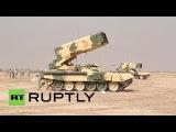 Применение ТОС 1  Буратино  в Сирии. Российская техника в Сирии
