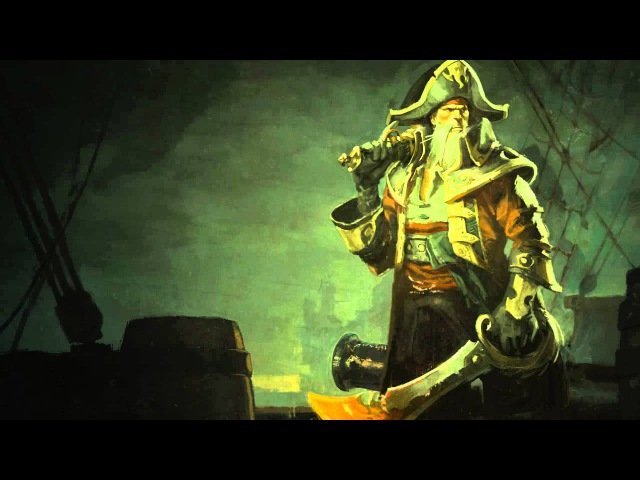 Captain Gangplank   Login Screen - League of Legends