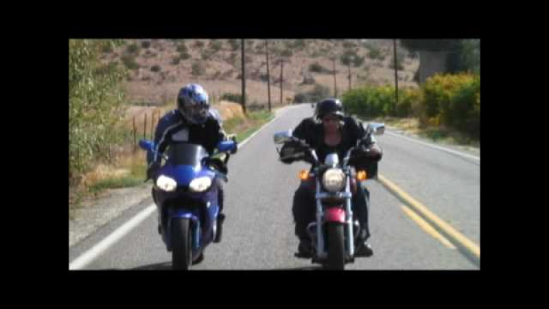 Cruiser vs Sport Bike - Fight Scene ('Road Rash' Live Action , Chain Nunchucks)