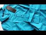 Рубашка Nife лазурь