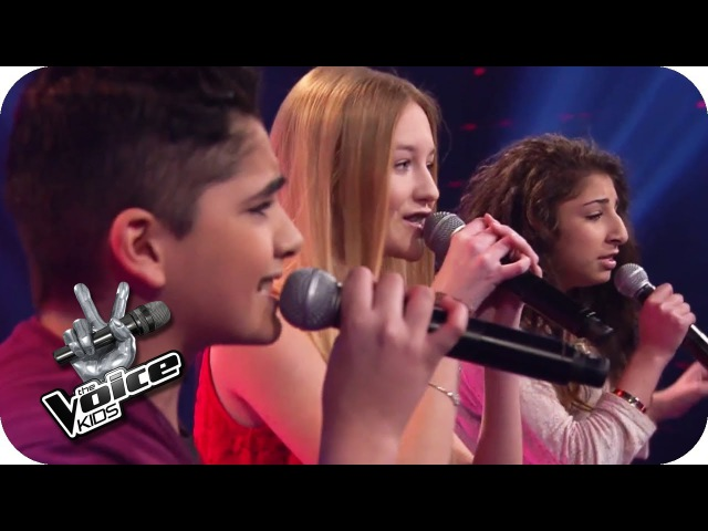Christina Aguilera Beautiful Renaz Soufjan Pia The Voice Kids 2014 BATTLE SAT 1