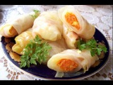 Как приготовить голубцы с морковью по корейски