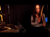 NIRVANA - IN BLOOM - DRUM COVER BY MEYTAL COHEN