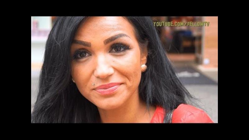 Alman kızları türk erkeklerini anlatıyor (3 kelimeromantik)