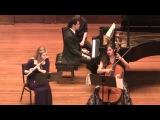 Françaix: Trio for Flute, Cello, and Piano, I. Allegro (Althen, Wilks, Lomelin)