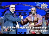 2015 World Bodybuilding Championships Overall Champion