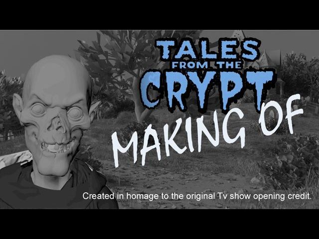 Tales From the Crypt Fanart Making-Of