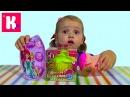 Кукла кекс сюрприз игрушки Барби Принцессы Диснея распаковка Cupcake doll Barbie surprises unb...
