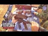 Commando in Mali ► Commando cleans his weapons