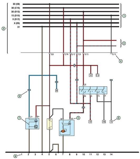 электро схемы вариант №2