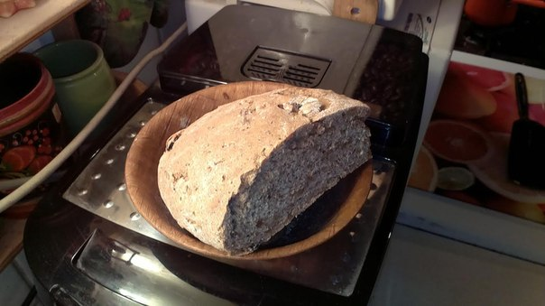 Хлеб 4 злака с кунжутом  и льняным семенем