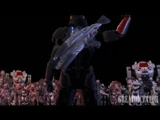 Commander shepard  music video
