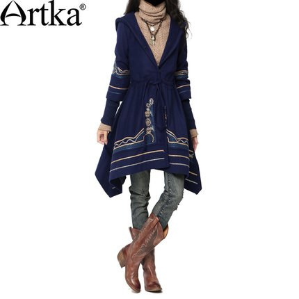 Artka阿卡佐罗的面具2014冬装新款女