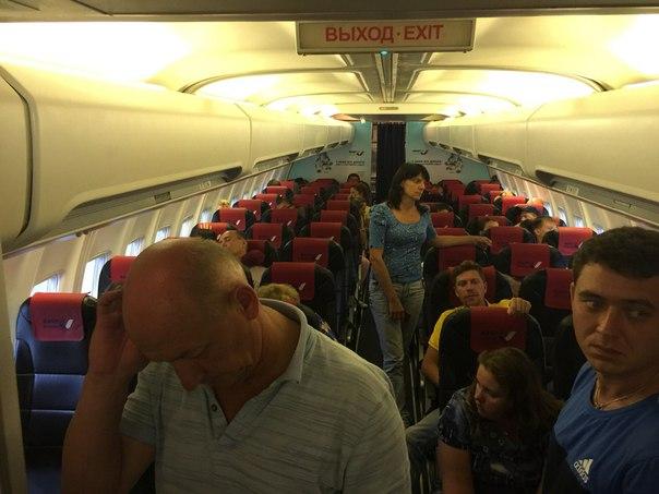 Самолёт, на котором я должен был лететь в #хабаровск, но решил остаться в...