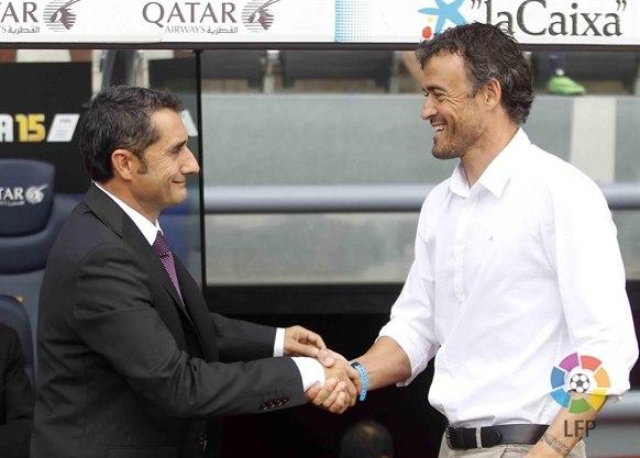 Вальверде: «Победа «Барселоны» — справедливый результат»