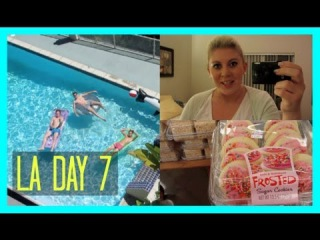 Vidcon Day 7 - Half Naked Caspar & Shopping