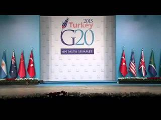 Лучшее видео с саммита G20 в Турции via