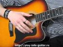 Как проигрывать гитарный бой правой рукой