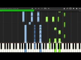 (How to play) M83 - Midnight City (Synthesia)