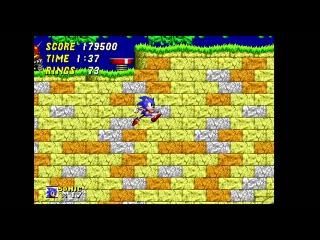 Sonic The Hedgehog 2 Прохождение (Sega)
