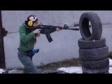 Alena Karelina Shotgun Traning