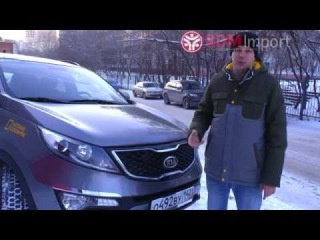 Обзор Kia Sportage 2012 год 2 л. turbo 4WD  от РДМ-Импорт