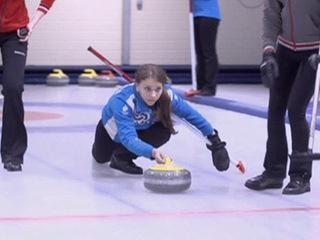 Зимние виды спорта. Российский керлинг. Шахматы на льду