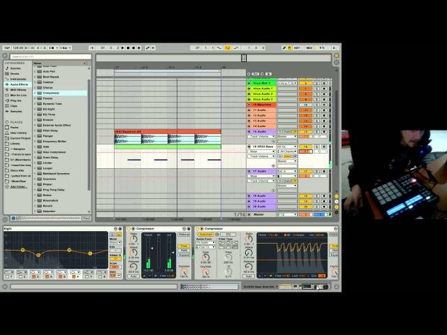 Ableton Live 9 Beginner Tutorial 06 - Beginner EQing, Processing, Effects, Grouping Return Tracks