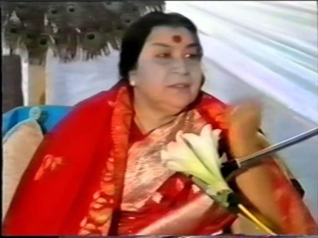 Пуджа Шри Картикее /1986/ - Лекция Шри Матаджи