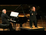 Thomas Quasthoff &amp Daniel Barenboim performs Gute Nacht of Schubert's Winterreise