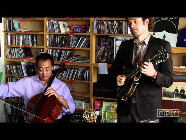 Yo-Yo Ma, Edgar Meyer, Chris Thile And Stuart Duncan NPR Music Tiny Desk Concert