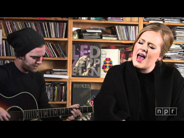 Adele: NPR Music Tiny Desk Concert